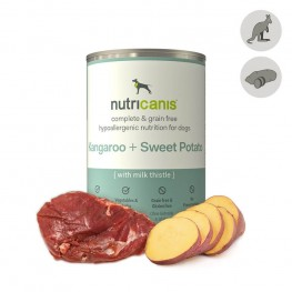 Hypoallergenic wet dog food: 400g Kangaroo & Sweet Potato